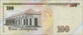 Honduras P.neu 100 Lempiras 2014 (1)