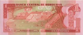 Honduras P.68c 1 Lempira 1989 (1)