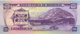 Honduras P.72 2 Lempira (1993-1994) (1)