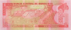 Honduras P.79b 1 Lempira 1998 (1)