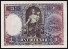 Hongkong, H & K Shanghai Bank P.172c 1 Dollar 1935 (1)