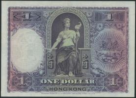 Hongkong, H & K Shanghai Bank P.172c 1 Dollar 1935 (2)