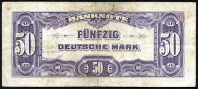 R.243a 50 DM 1948 B-Stempel (3/4)
