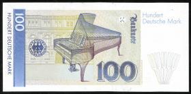 R.294b 100 DM 1989 Serie ZA Ersatznote (1)