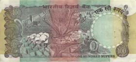 Indien / India P.086d 100 Rupien (2-)