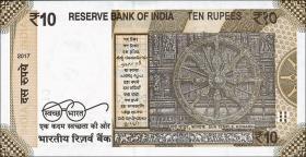 Indien / India P.neu 10 Rupien 2017 (1)