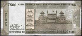 Indien / India P.neu 500 Rupien 2016 (1)