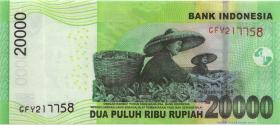 Indonesien / Indonesia P.151a 20.000 Rupien 2011 (1)