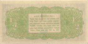Indonesien / Indonesia P.016 1/2 Rupie 1945 (1)