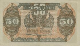 Indonesien / Indonesia P.028 50 Rupien 1947 (2)
