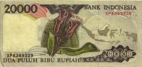 Indonesien / Indonesia P.135a 20000 Rupien 1995 (3)
