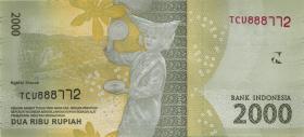 Indonesien / Indonesia P.155b 2000 Rupien 2016 (2017) (1)