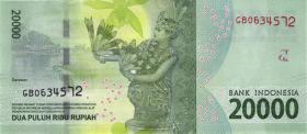 Indonesien / Indonesia P.158b 20000 Rupien 2016 (2017) (1)