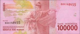 Indonesien / Indonesia P.Neu 100.000 Rupien 2016 (1)