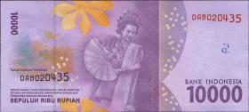 Indonesien / Indonesia P.Neu 10000 Rupien 2016 (1)