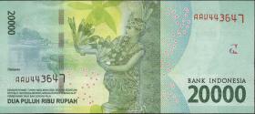 Indonesien / Indonesia P.Neu 20000 Rupien 2016 (1)