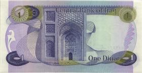 Irak / Iraq P.063a 1 Dinar (1973) (1)
