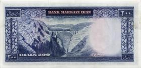 Iran P.087a 200 Rials (1971-73) (1/1-)