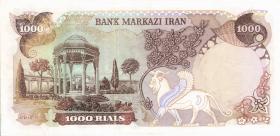 Iran P.105 1000 Rials (1974-79) (2)