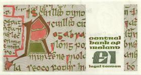 Irland / Ireland P.70c 1 Pound 1982 (1/1-)