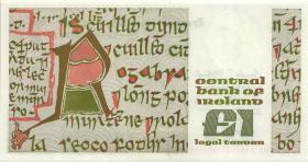 Irland / Ireland P.70c 1 Pound 1986 (1)