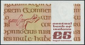 Irland / Ireland P.71c 5 Pounds 1981 (1)
