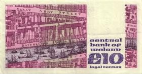 Irland / Ireland P.72c 10 Pounds 1991 (3)