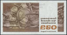 Irland / Ireland P.74b 50 Pounds 1981 (1)