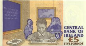 Irland / Ireland P.75b 5 Pounds 1996 (1)