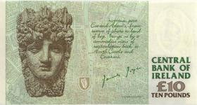 Irland / Ireland P.76a 10 Pounds 1993 (1)