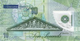 Nordirland / Northern Ireland, Danske Bank P.neu 10 Pounds 2017 (2019) Polymer (1)