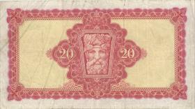 Irland / Ireland P.67b 20 Pounds 1970 (3)