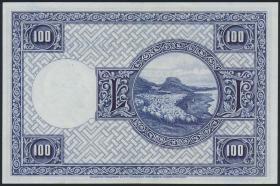 Island / Iceland P.35a 100 Kronen L. 1928 (2)