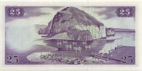Island / Iceland P.39 25 Kronen 1957 (1)