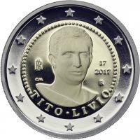 Italien 2 Euro 2017 Titus Livius - 2000. Todestag PP