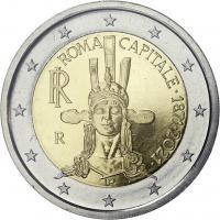 Italien 2 Euro 2021 Rom - 150 Jahre Hauptstadt Italiens Coincard