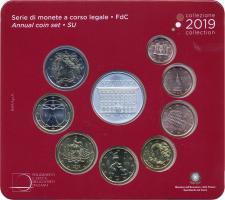 Italien Euro-KMS 2019 inkl. 5-Euro-Gedenkmünze Cesare Maccari