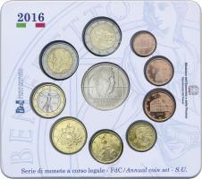 Italien Euro-KMS 2016 inkl. 5 Euro