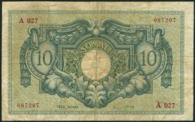 Ital.-Somaliland/Ital. Somaliland P.13a 10 Somali 1950 (4)