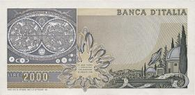 Italien / Italy P.103b 2000 Lire 1976 (1)