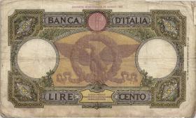 Italien / Italy P.055b 100 Lire 1937 (4)