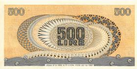 Italien / Italy P.093 500 Lire 1967 (1)
