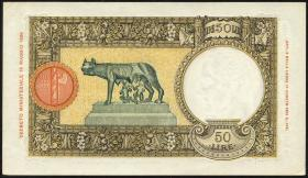 Italien / Italy P.054 50 Lire 1940 (1/1-)