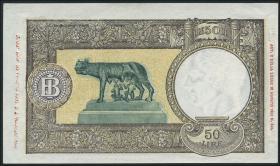 Italien / Italy P.066 50 Lire 8.10.1943 (2+)