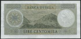 Italien / Italy P.100a 100.000 Lire 1967 (3+)