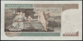 Italien / Italy P.104 20000 Lire 1975 (3)