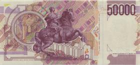 Italien / Italy P.116b 50000 Lire 1992 (1-)