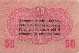 Italien / Italy P.M03 50 Centesmi 1918 (2)