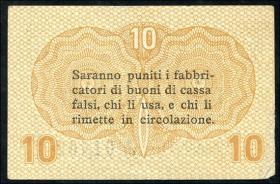 Italien / Italy P.M02 10 Centesimi 1918 (1-)