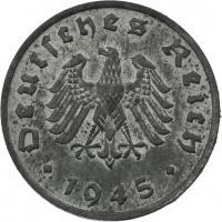 J.373b • 1 Reichspfennig 1945 F